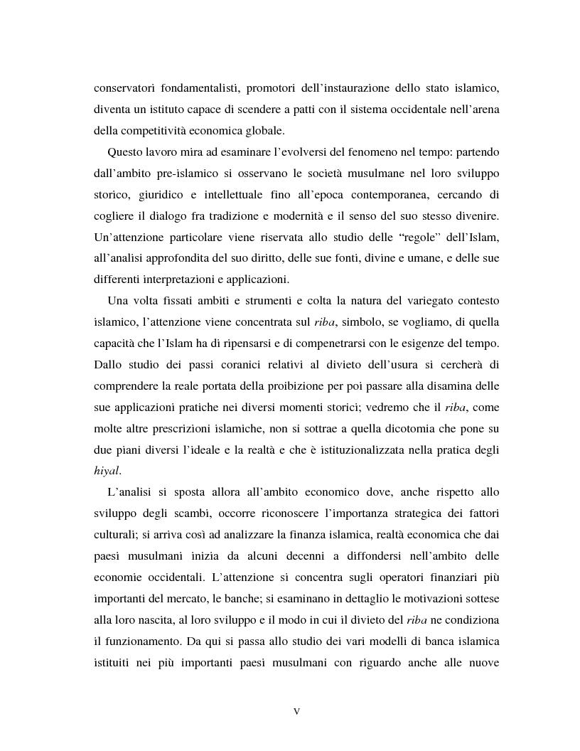 Anteprima della tesi: Dal divieto del riba all'Islamic Banking: un percorso storico-giuridico, Pagina 2