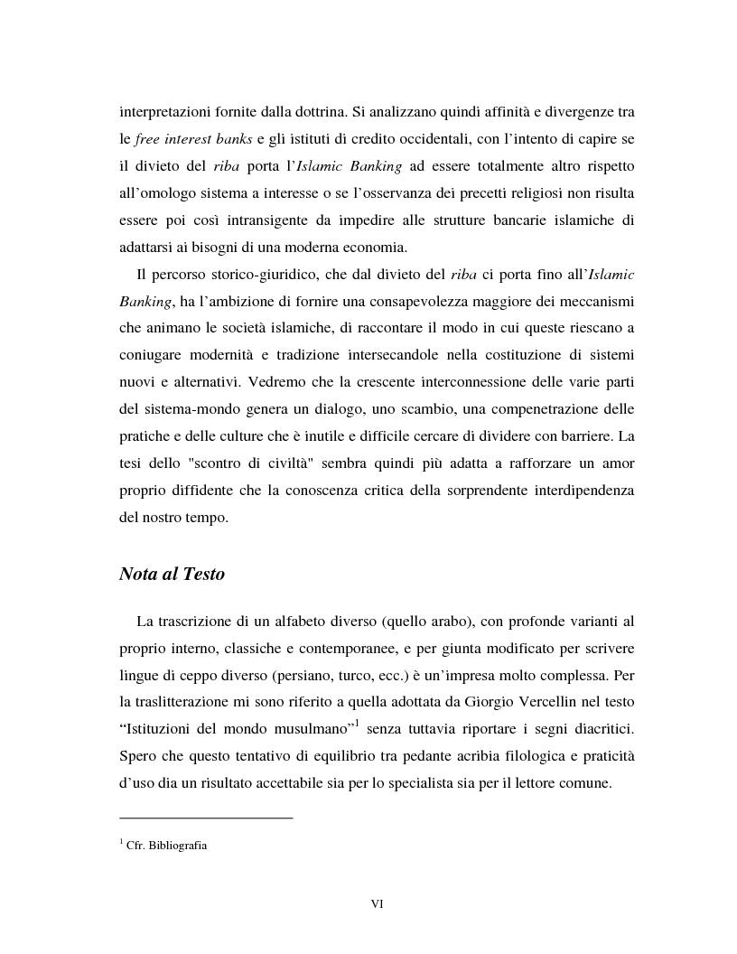 Anteprima della tesi: Dal divieto del riba all'Islamic Banking: un percorso storico-giuridico, Pagina 3