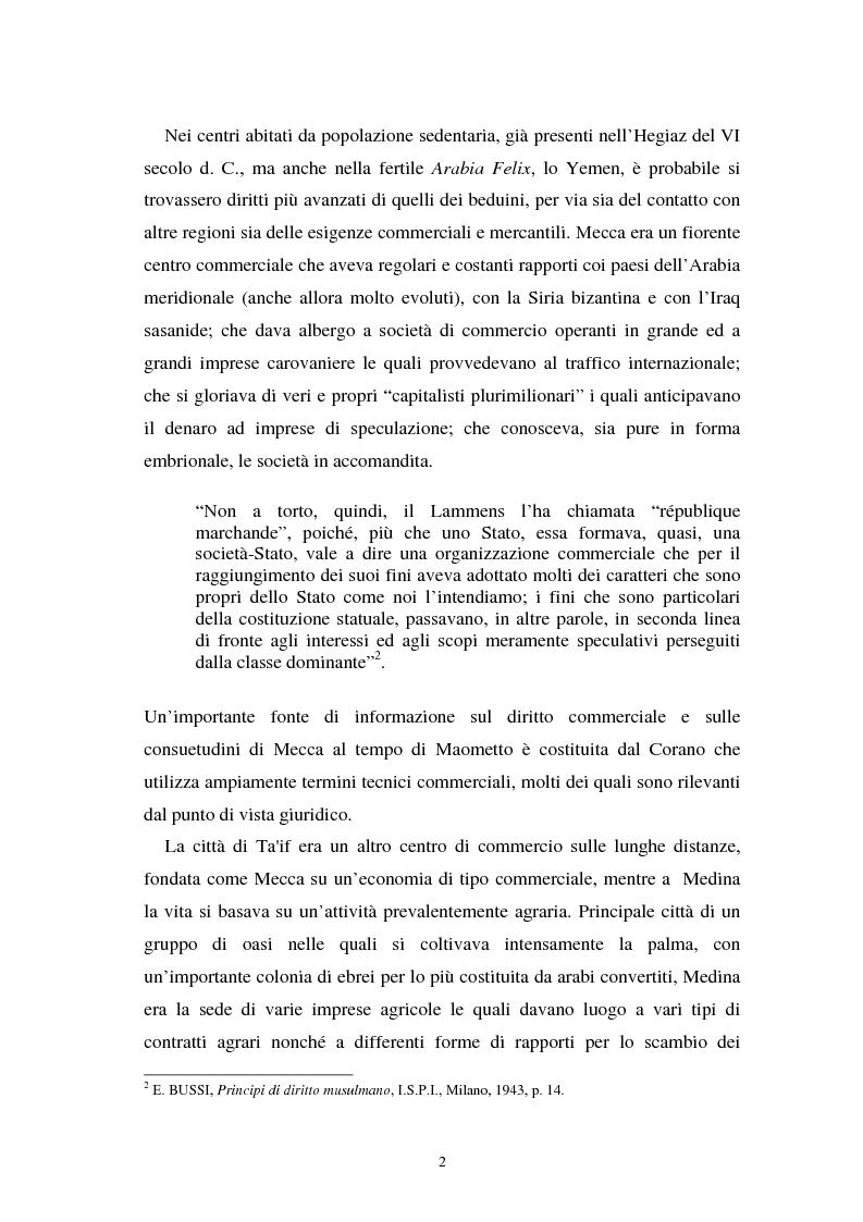 Anteprima della tesi: Dal divieto del riba all'Islamic Banking: un percorso storico-giuridico, Pagina 5