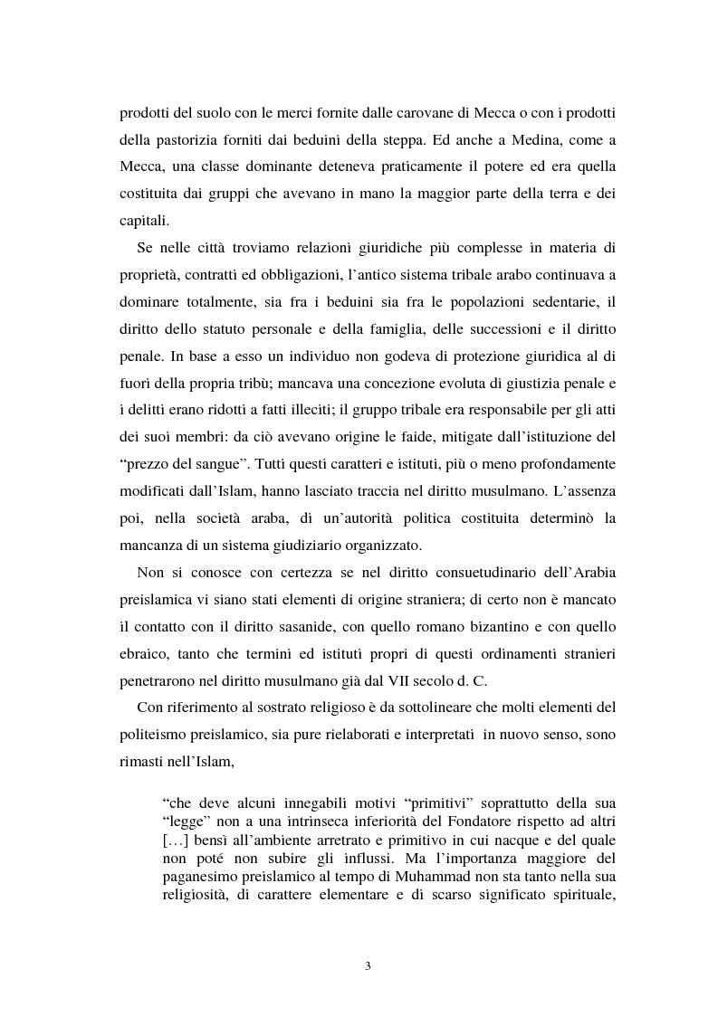 Anteprima della tesi: Dal divieto del riba all'Islamic Banking: un percorso storico-giuridico, Pagina 6