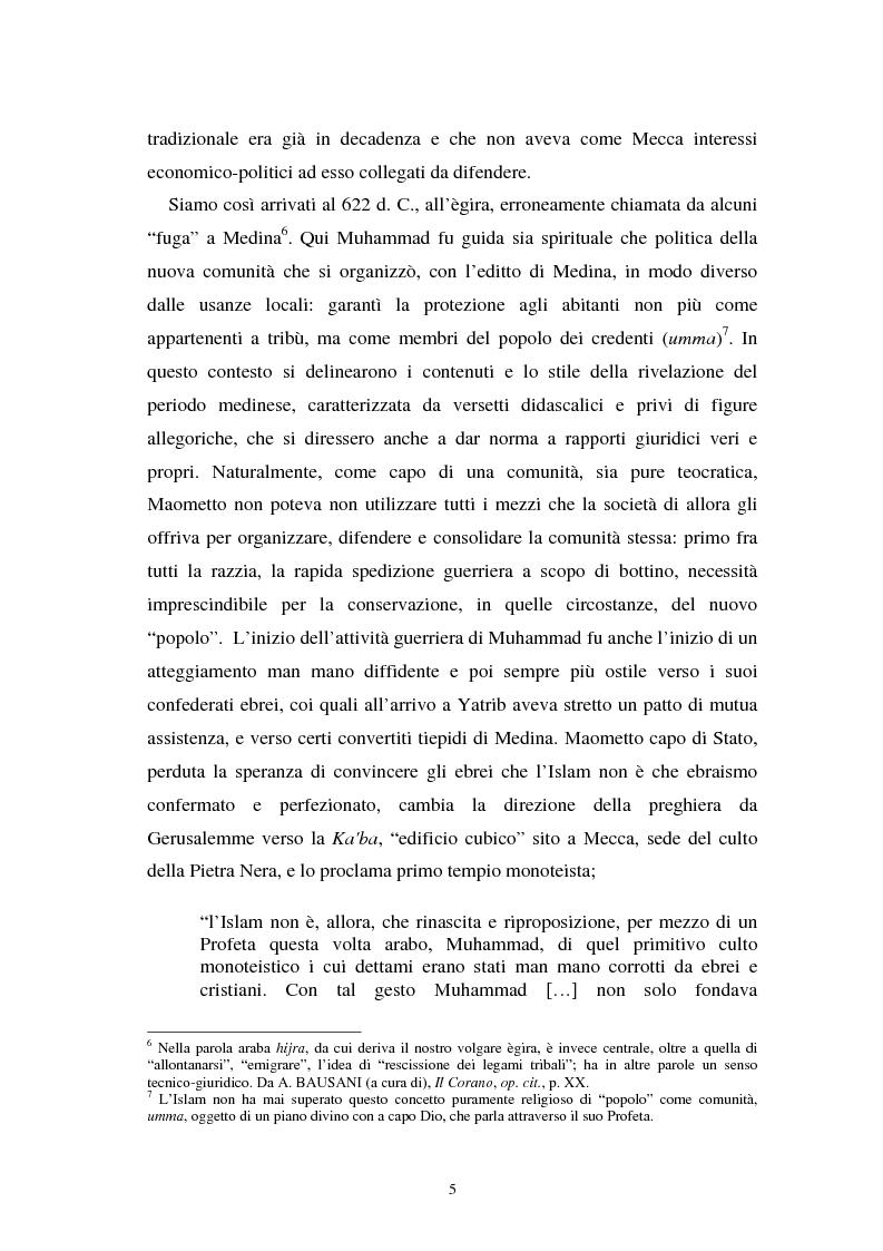 Anteprima della tesi: Dal divieto del riba all'Islamic Banking: un percorso storico-giuridico, Pagina 8