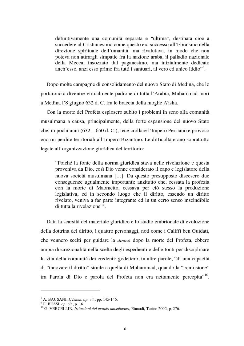 Anteprima della tesi: Dal divieto del riba all'Islamic Banking: un percorso storico-giuridico, Pagina 9