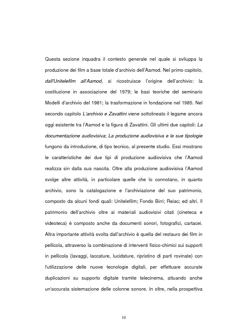 Anteprima della tesi: Archivio audiovisivo del movimento operaio e democratico: vent'anni di produzioni, Pagina 6