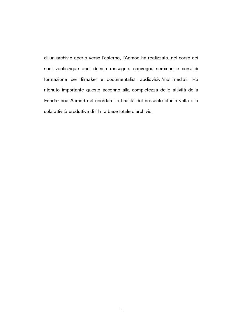 Anteprima della tesi: Archivio audiovisivo del movimento operaio e democratico: vent'anni di produzioni, Pagina 7