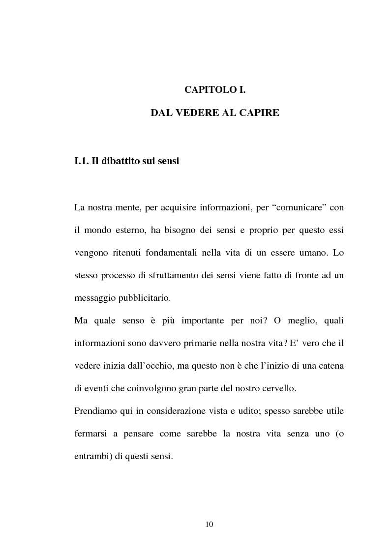 Anteprima della tesi: Pubblicità tra oralità e scrittura - Dall'immagine allo scritto fino a giungere all'immagine - Il caso Dolce e Gabbana, Pagina 7