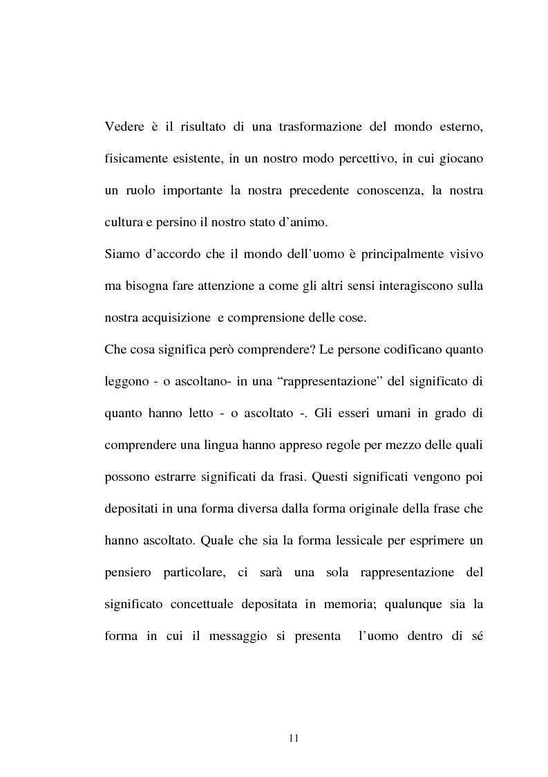 Anteprima della tesi: Pubblicità tra oralità e scrittura - Dall'immagine allo scritto fino a giungere all'immagine - Il caso Dolce e Gabbana, Pagina 8