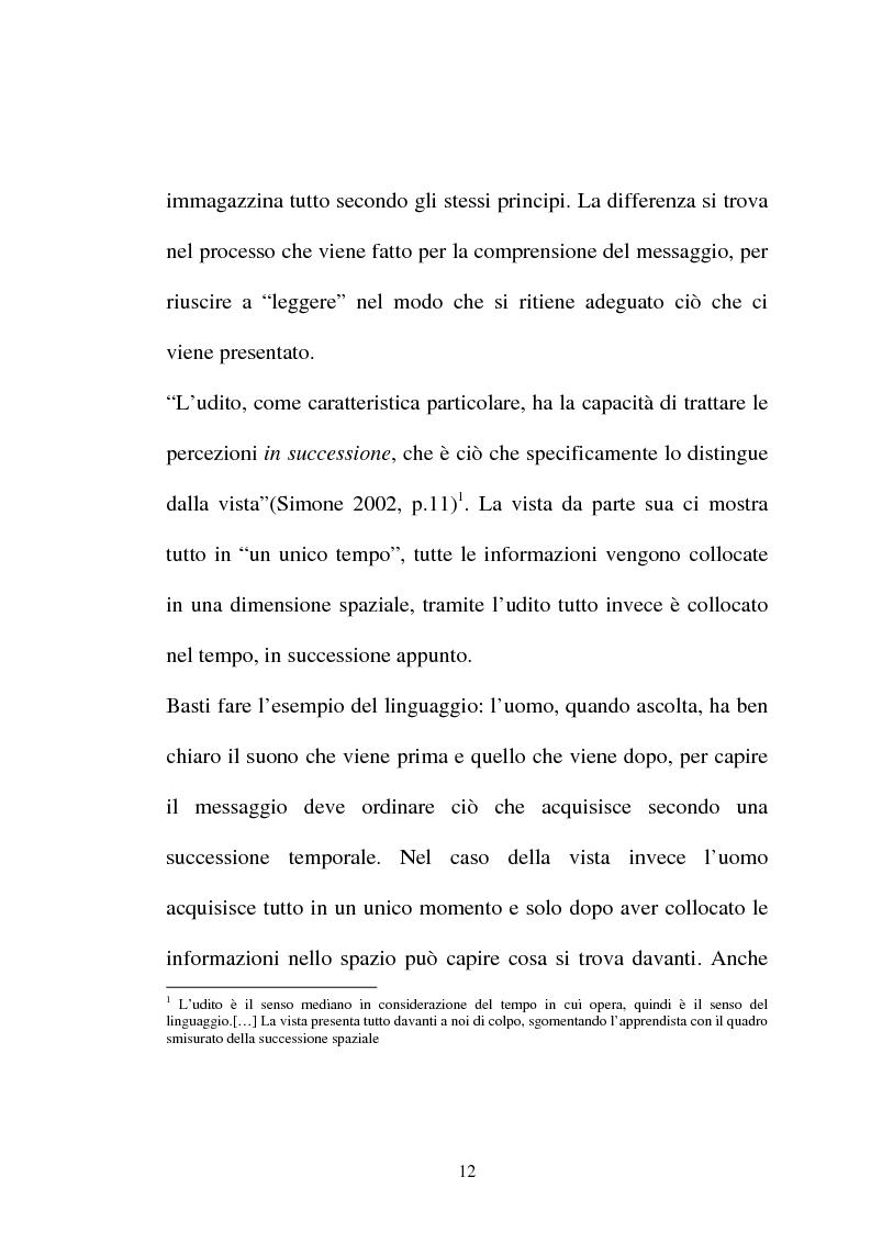 Anteprima della tesi: Pubblicità tra oralità e scrittura - Dall'immagine allo scritto fino a giungere all'immagine - Il caso Dolce e Gabbana, Pagina 9