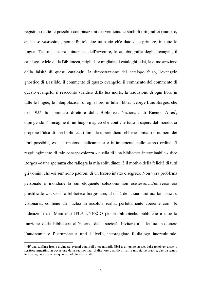 Anteprima della tesi: Le biblioteche scolastiche multimediali, Pagina 3