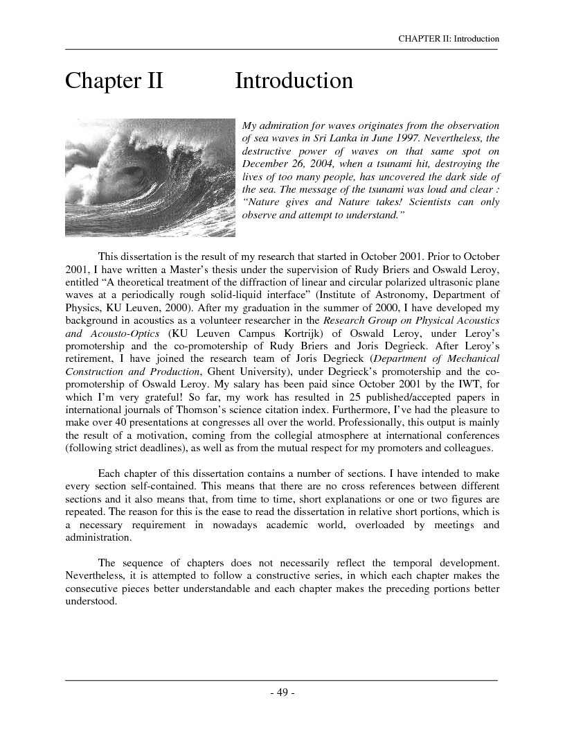 Anteprima della tesi: The interaction of complex harmonic elastic waves with periodically corrugated surfaces and with anisotropic viscoelastic and/or piezoelectric layered media, Pagina 1