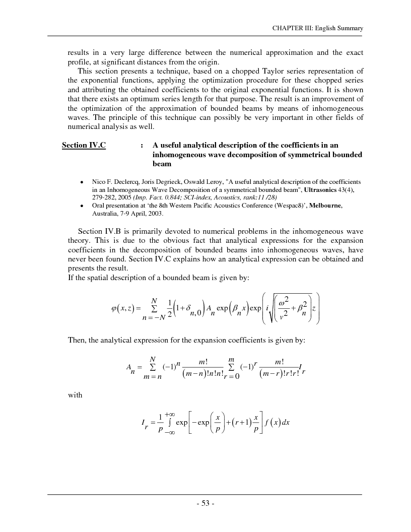 Anteprima della tesi: The interaction of complex harmonic elastic waves with periodically corrugated surfaces and with anisotropic viscoelastic and/or piezoelectric layered media, Pagina 5