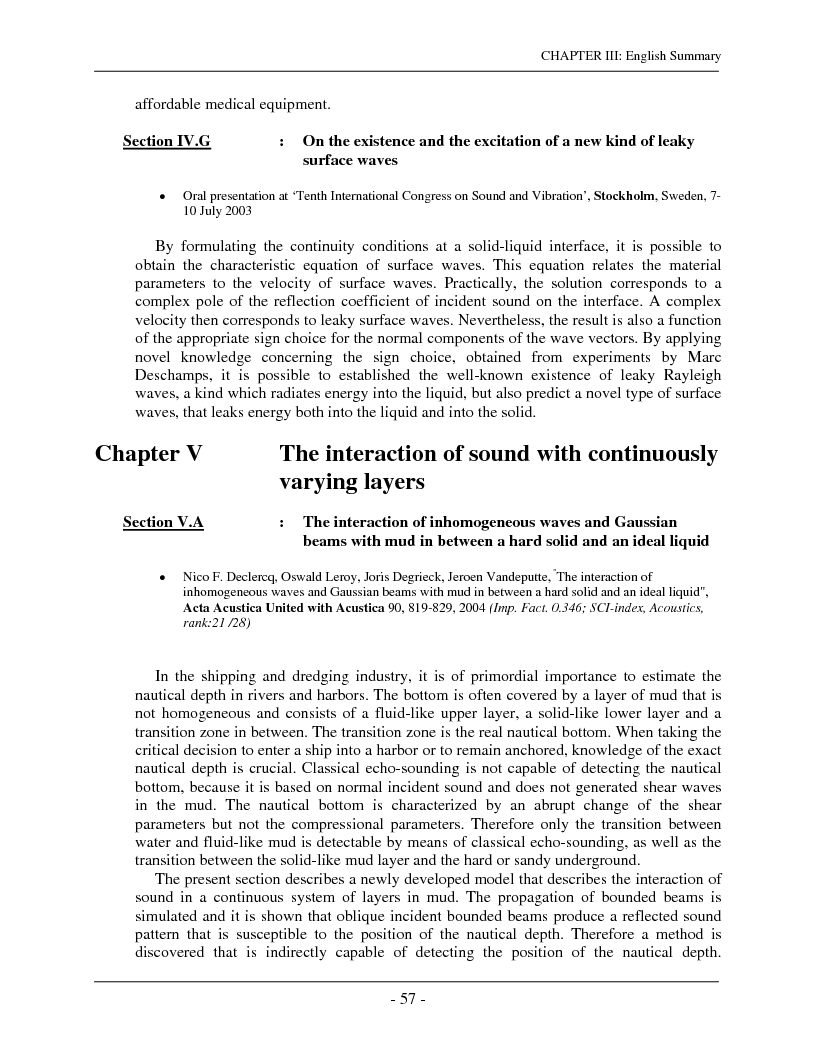Anteprima della tesi: The interaction of complex harmonic elastic waves with periodically corrugated surfaces and with anisotropic viscoelastic and/or piezoelectric layered media, Pagina 9
