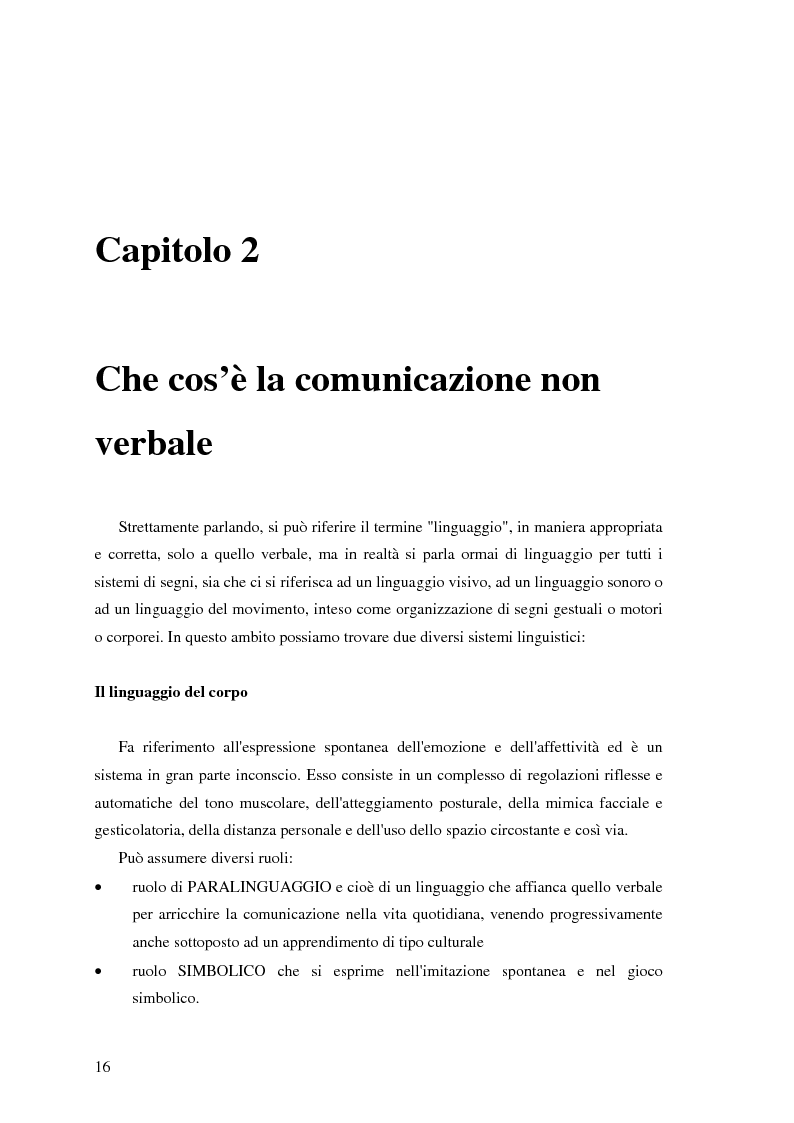 Anteprima della tesi: Il ruolo della comunicazione non verbale nel processo di selezione del personale. Il caso delle agenzie di lavoro interinale., Pagina 10
