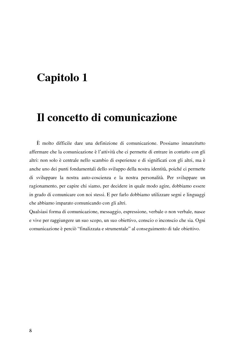Anteprima della tesi: Il ruolo della comunicazione non verbale nel processo di selezione del personale. Il caso delle agenzie di lavoro interinale., Pagina 2
