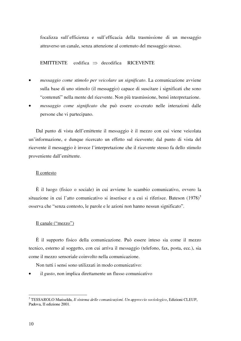 Anteprima della tesi: Il ruolo della comunicazione non verbale nel processo di selezione del personale. Il caso delle agenzie di lavoro interinale., Pagina 4