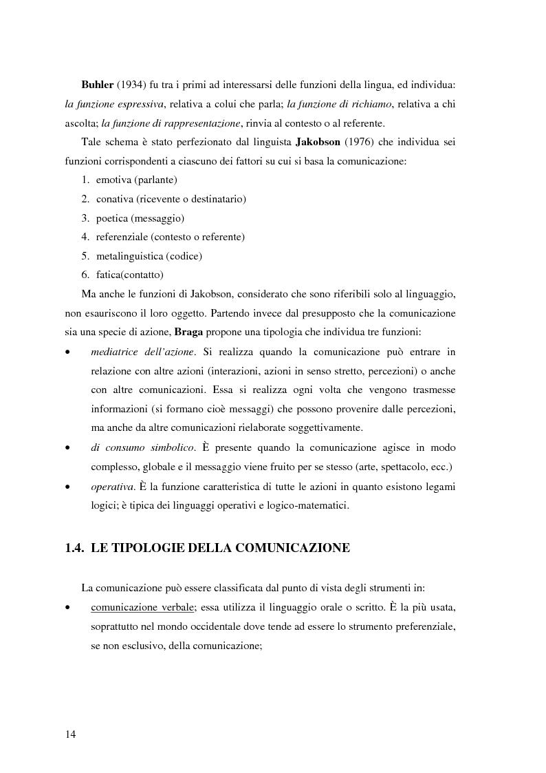 Anteprima della tesi: Il ruolo della comunicazione non verbale nel processo di selezione del personale. Il caso delle agenzie di lavoro interinale., Pagina 8