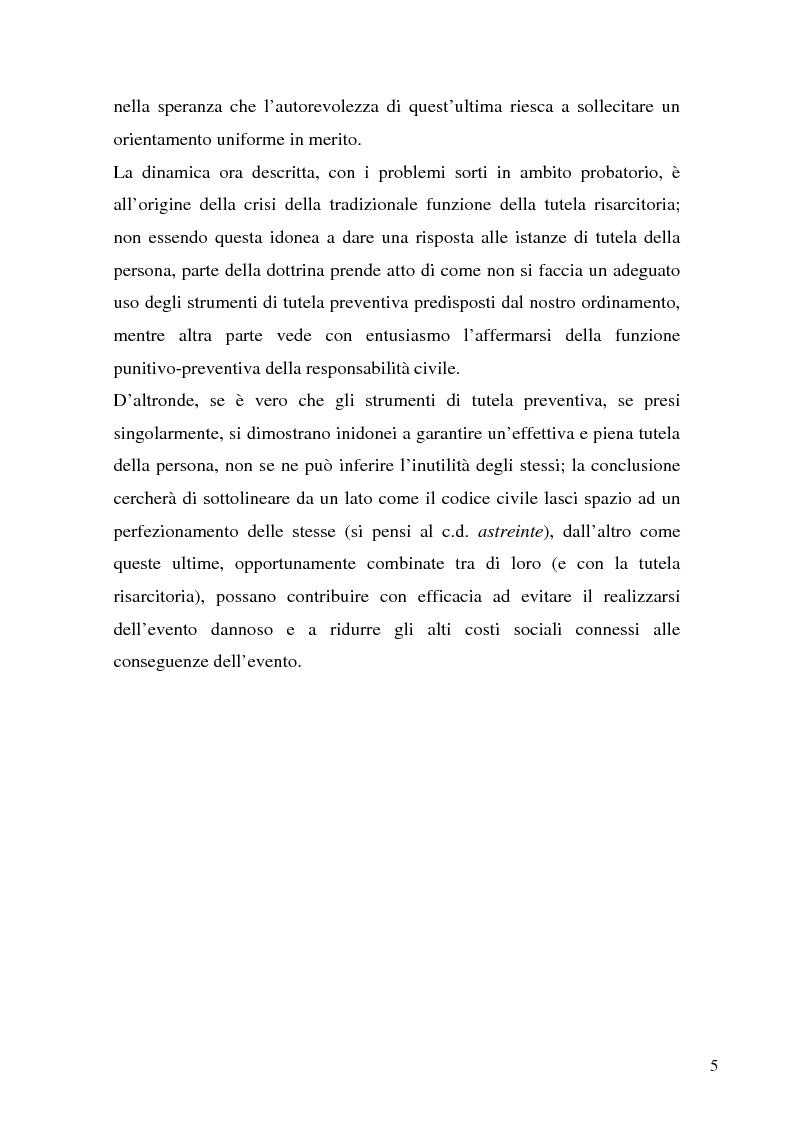 Anteprima della tesi: Il demansionamento nel rapporto di lavoro subordinato, Pagina 3