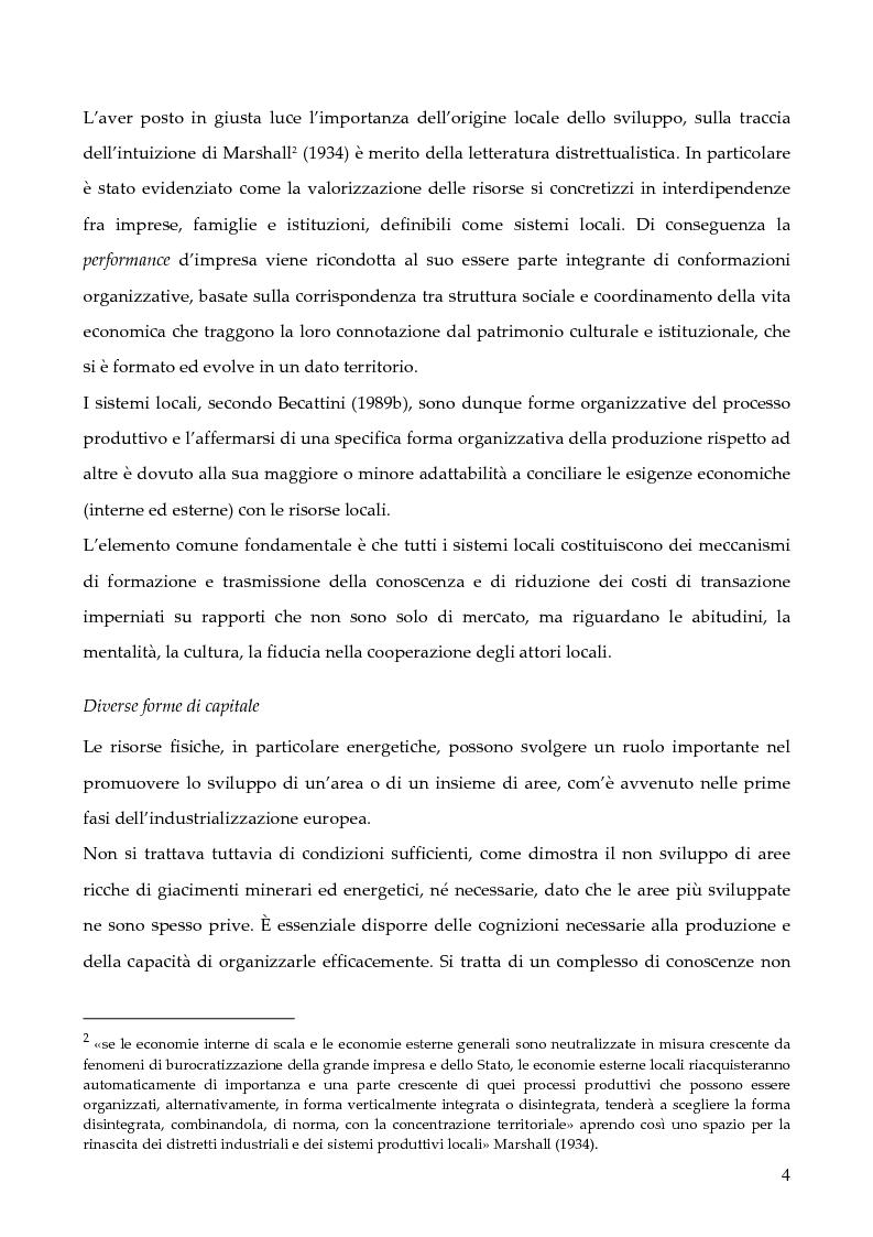 """Anteprima della tesi: La programmazione dei Fondi strutturali 2000 - 2006: I """"Progetti Integrati Territoriali"""", Pagina 4"""