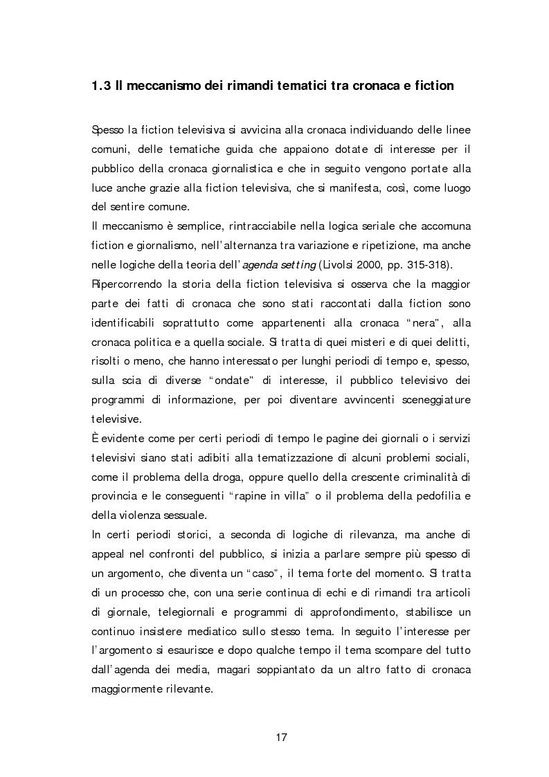Anteprima della tesi: Dai fatti di cronaca al piccolo schermo: i temi della fiction televisiva, Pagina 12