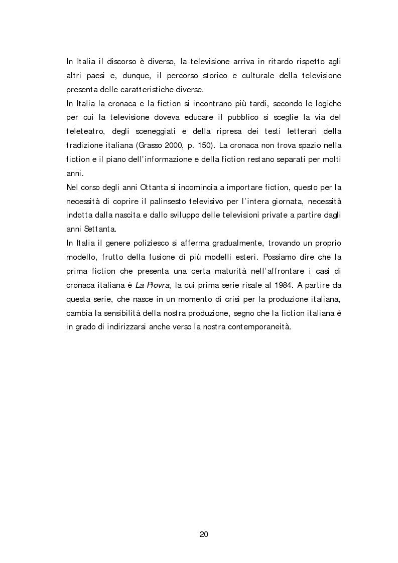 Anteprima della tesi: Dai fatti di cronaca al piccolo schermo: i temi della fiction televisiva, Pagina 15