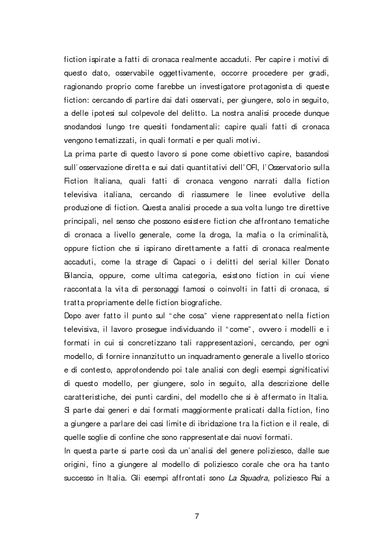Anteprima della tesi: Dai fatti di cronaca al piccolo schermo: i temi della fiction televisiva, Pagina 2