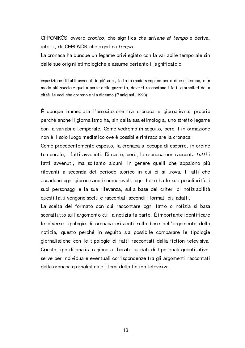 Anteprima della tesi: Dai fatti di cronaca al piccolo schermo: i temi della fiction televisiva, Pagina 8