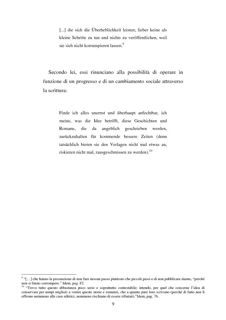 Anteprima della tesi: Brigitte Reimann e Christa Wolf: un epistolario, un'amicizia, Pagina 9