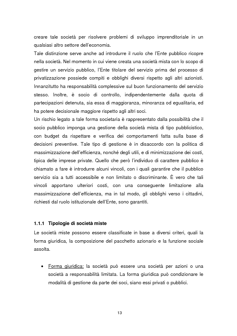 Anteprima della tesi: Forme di collaborazione pubblico-privato: un'analisi empirica sull'utilizzo del Project Finance nel settore sanitario italiano, Pagina 10