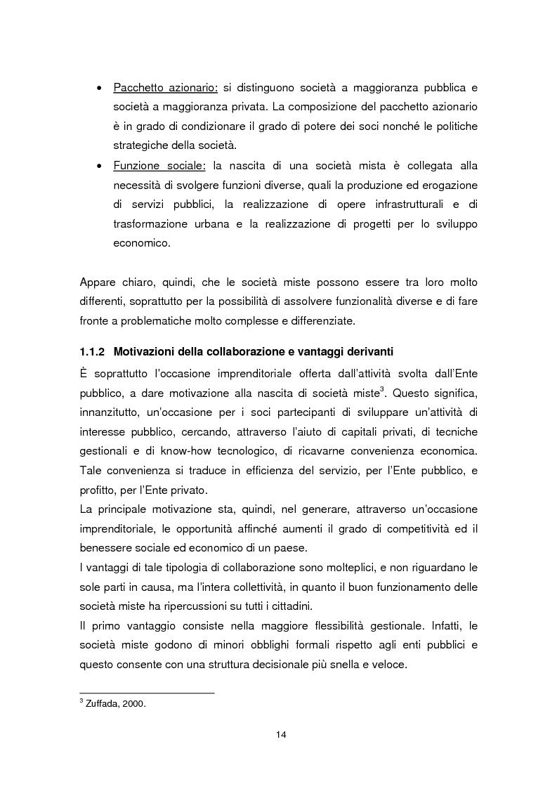 Anteprima della tesi: Forme di collaborazione pubblico-privato: un'analisi empirica sull'utilizzo del Project Finance nel settore sanitario italiano, Pagina 11