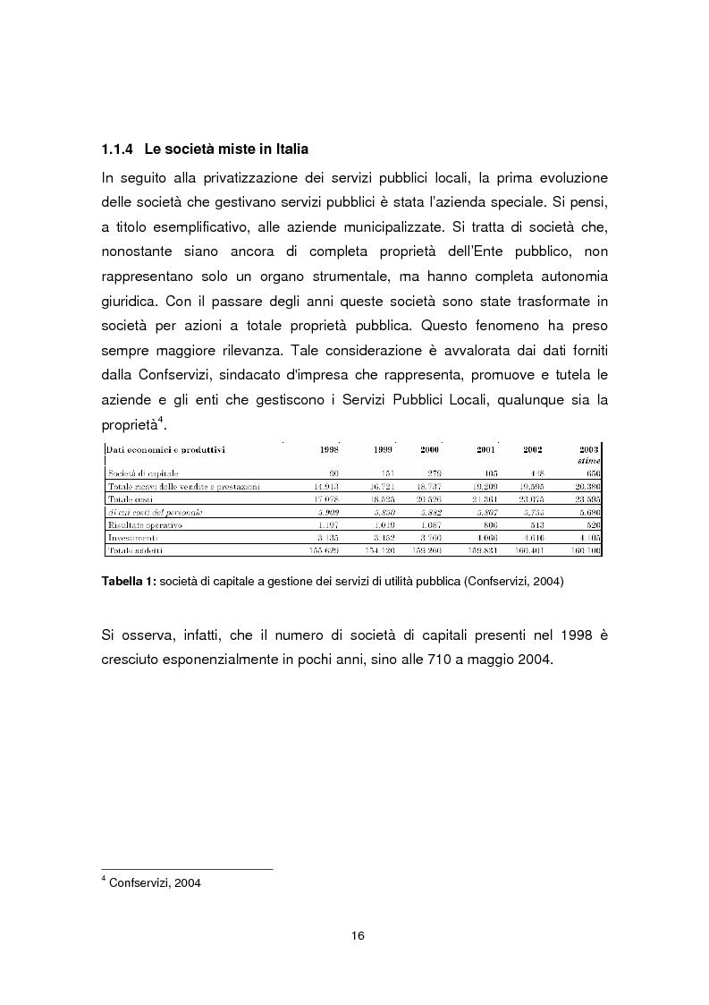Anteprima della tesi: Forme di collaborazione pubblico-privato: un'analisi empirica sull'utilizzo del Project Finance nel settore sanitario italiano, Pagina 13