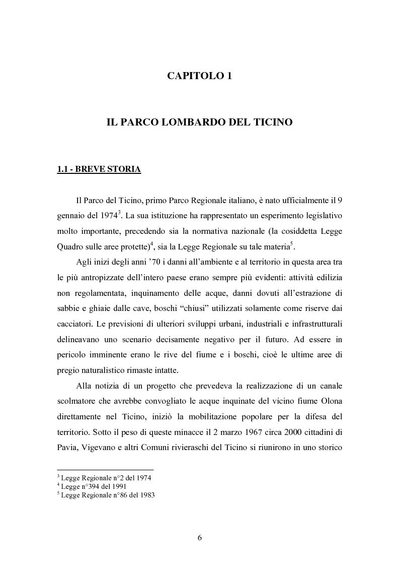 Anteprima della tesi: Gli interventi di Ingegneria Naturalistica nel Parco del Ticino, Pagina 5