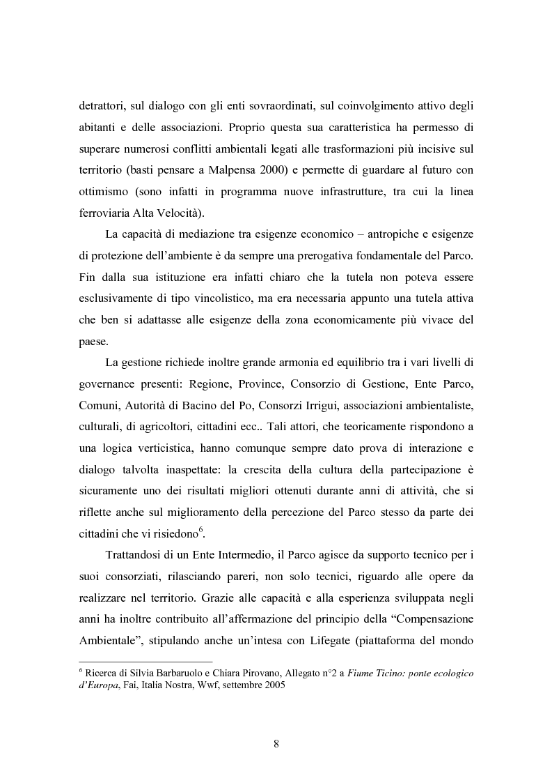 Anteprima della tesi: Gli interventi di Ingegneria Naturalistica nel Parco del Ticino, Pagina 7