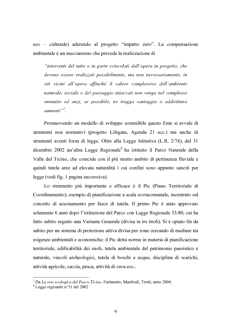 Anteprima della tesi: Gli interventi di Ingegneria Naturalistica nel Parco del Ticino, Pagina 8
