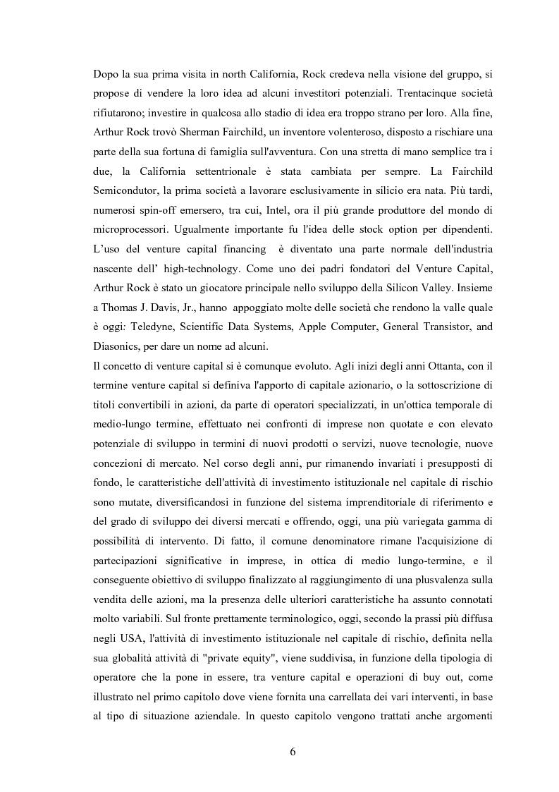 Anteprima della tesi: Il ruolo degli investitori istituzionali nel processo di sviluppo delle Pmi. Il caso di una società operante nel settore fotovoltaico., Pagina 2