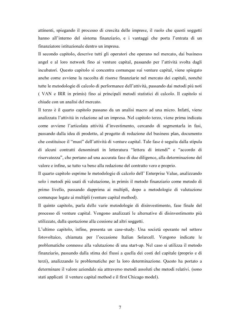 Anteprima della tesi: Il ruolo degli investitori istituzionali nel processo di sviluppo delle Pmi. Il caso di una società operante nel settore fotovoltaico., Pagina 3