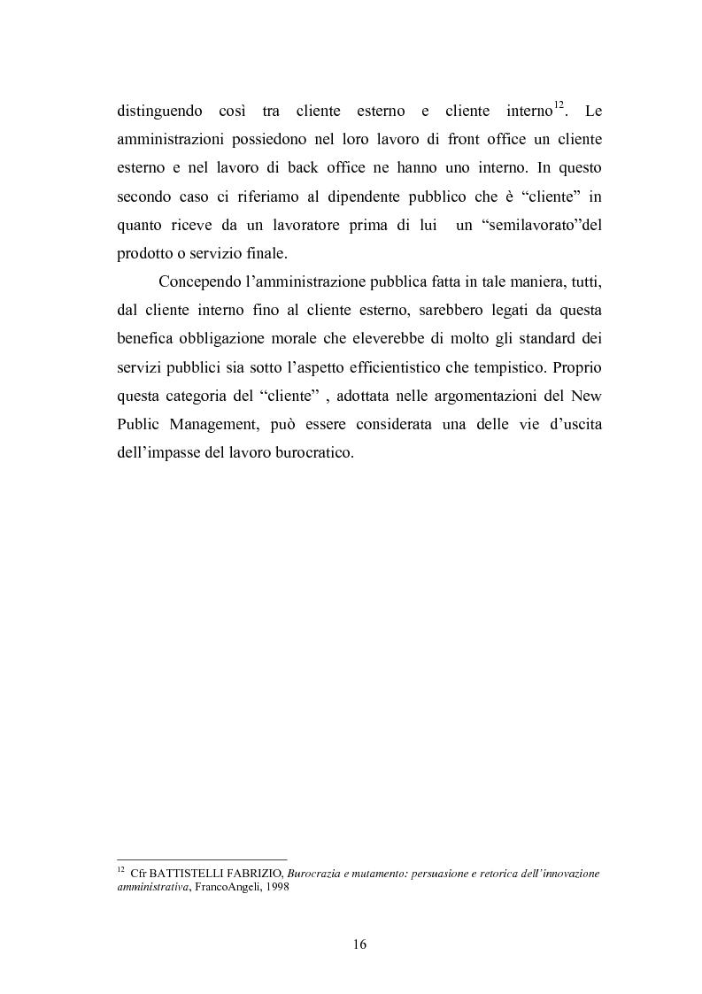 Anteprima della tesi: Il Comune italiano nell'Era dell'Informazione-I progetti di e-Government del Comune di Viterbo, Pagina 14