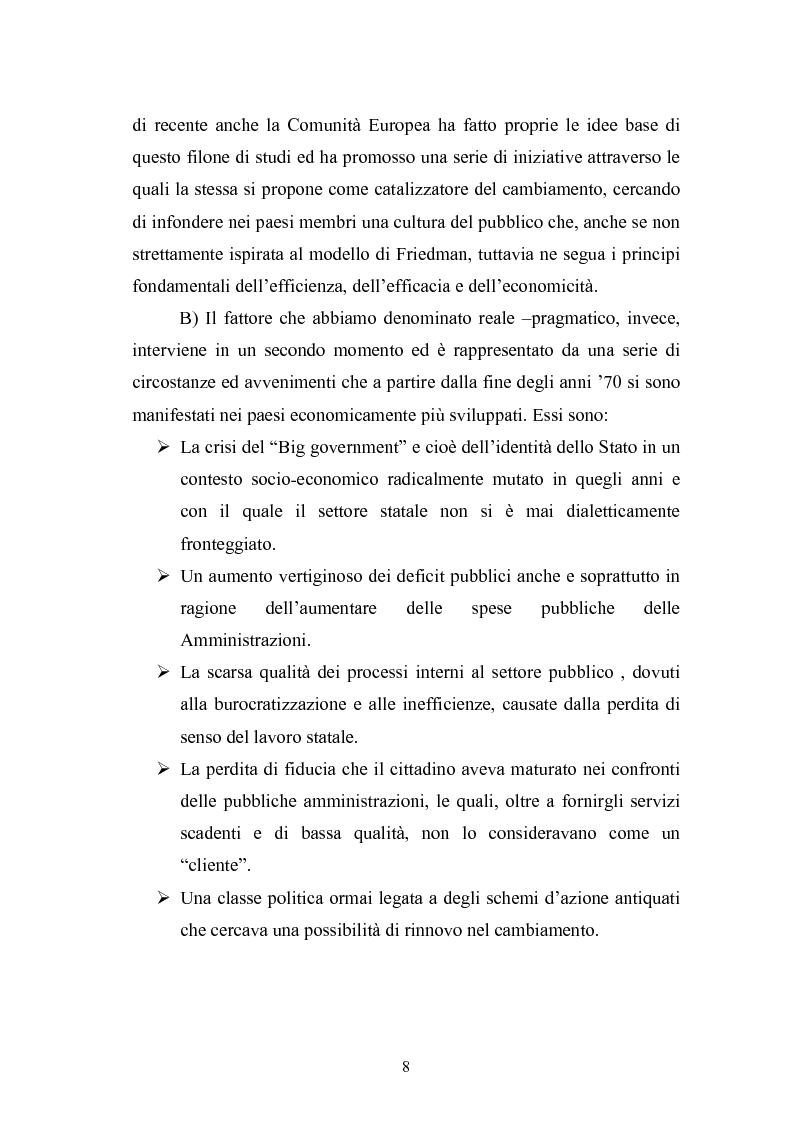 Anteprima della tesi: Il Comune italiano nell'Era dell'Informazione-I progetti di e-Government del Comune di Viterbo, Pagina 6