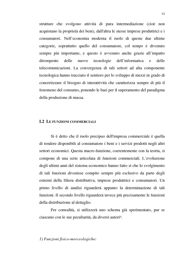 Anteprima della tesi: I servizi telematici nel marketing dei beni di consumo diretto, Pagina 2