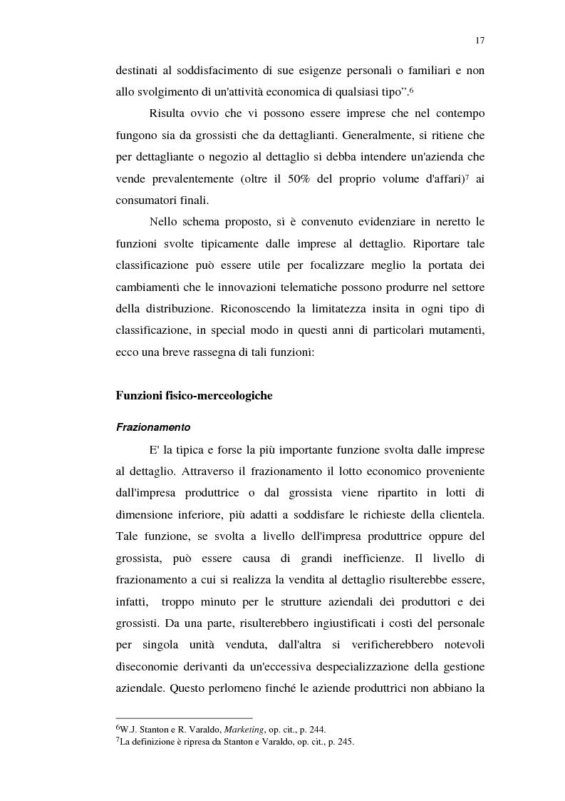Anteprima della tesi: I servizi telematici nel marketing dei beni di consumo diretto, Pagina 5