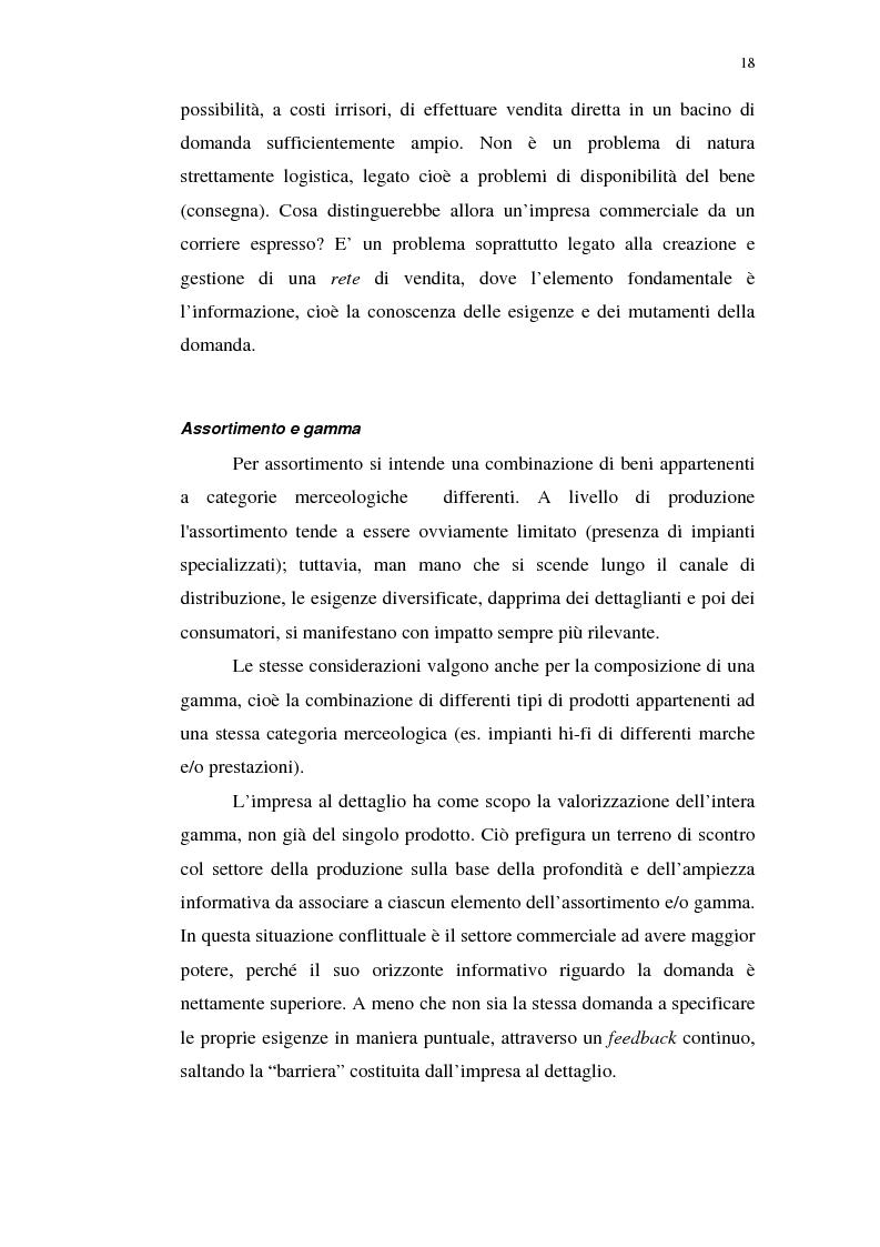 Anteprima della tesi: I servizi telematici nel marketing dei beni di consumo diretto, Pagina 6