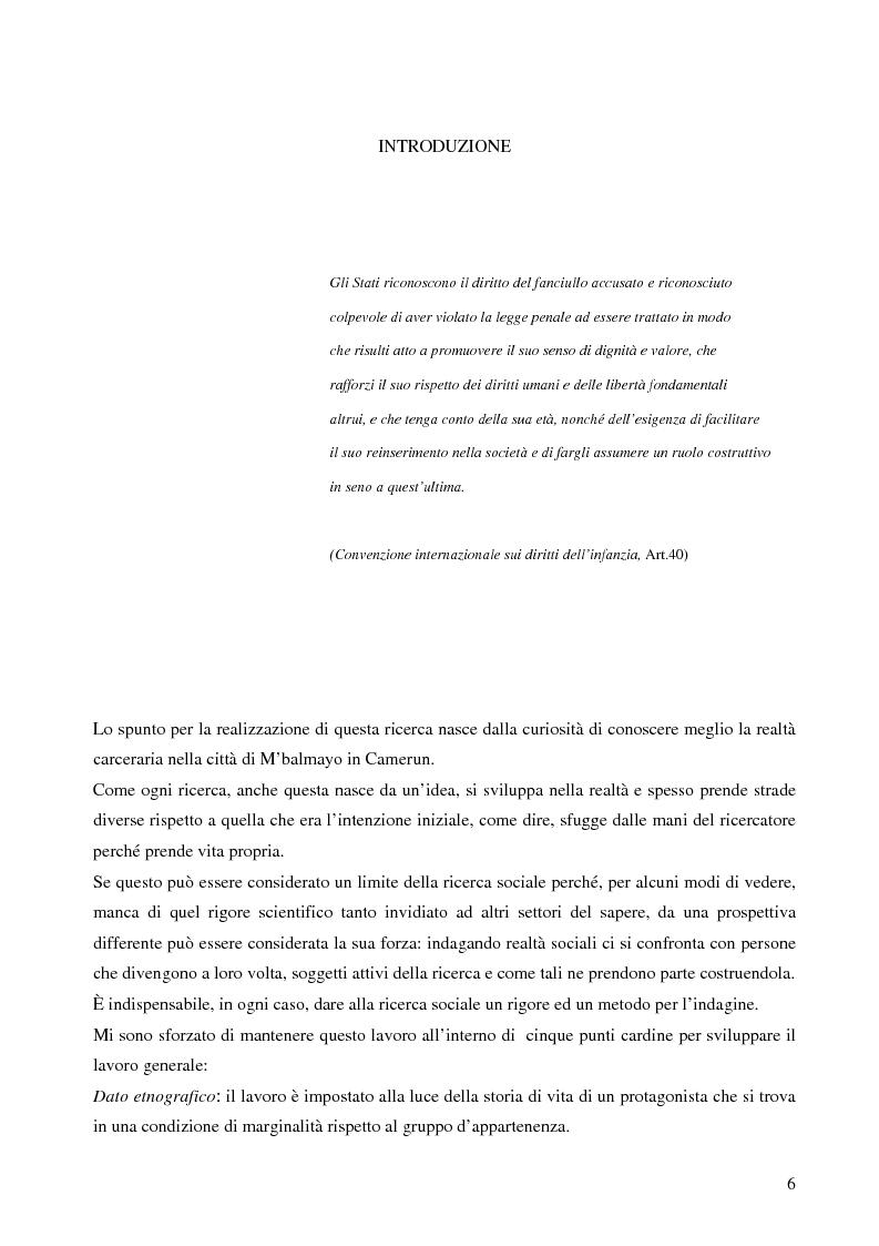 Anteprima della tesi: Analisi antropologica di un racconto di vita, Pagina 1