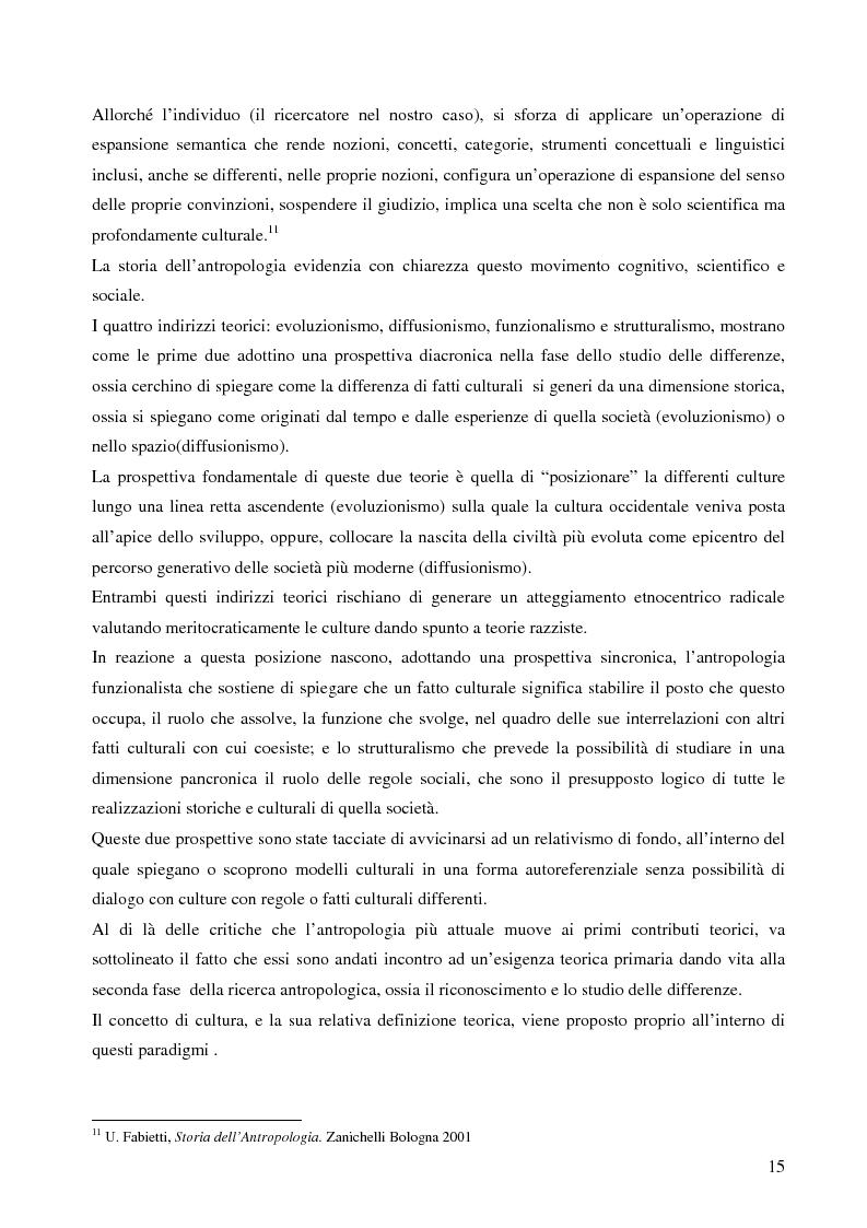 Anteprima della tesi: Analisi antropologica di un racconto di vita, Pagina 10