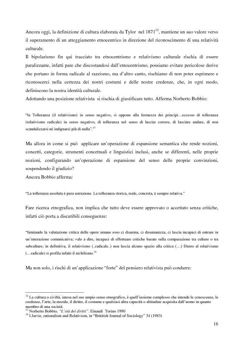 Anteprima della tesi: Analisi antropologica di un racconto di vita, Pagina 11