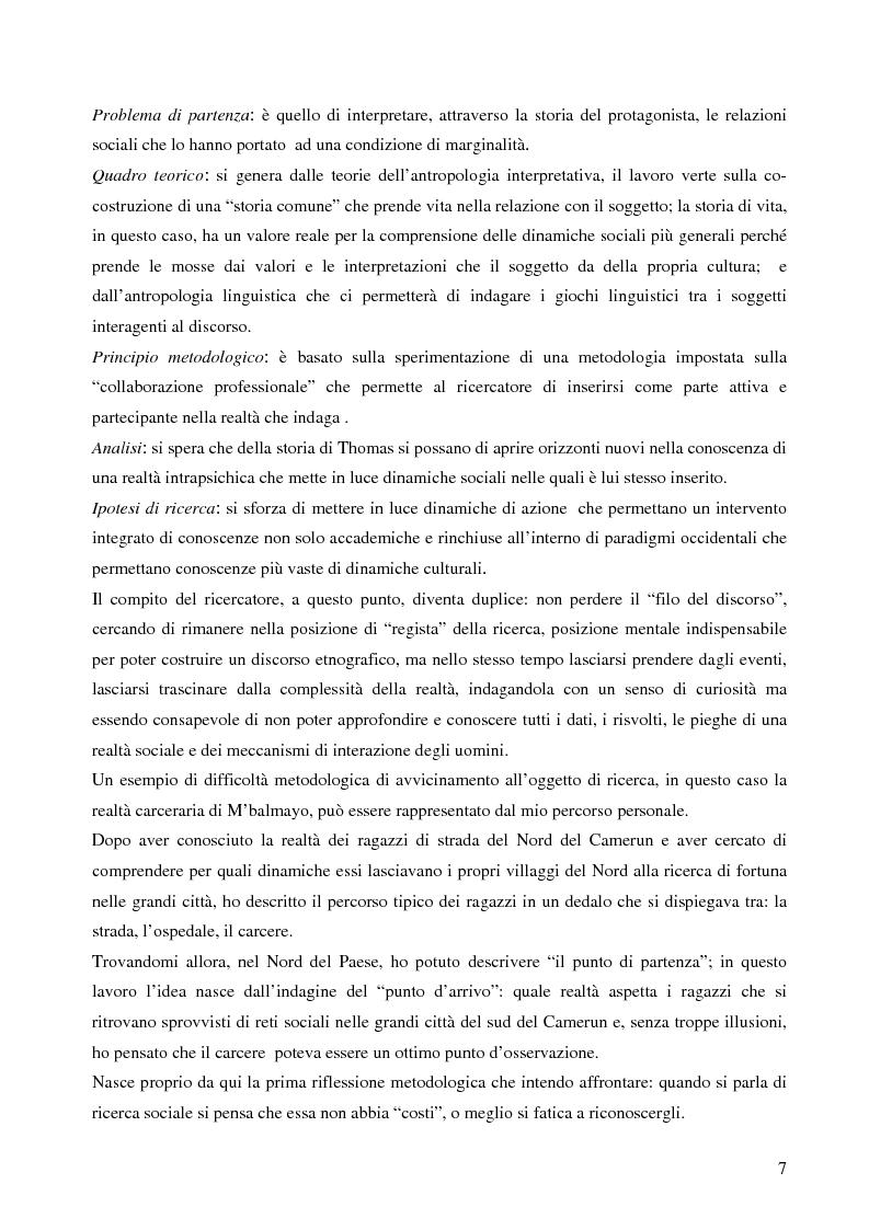 Anteprima della tesi: Analisi antropologica di un racconto di vita, Pagina 2