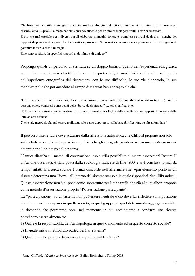 Anteprima della tesi: Analisi antropologica di un racconto di vita, Pagina 4