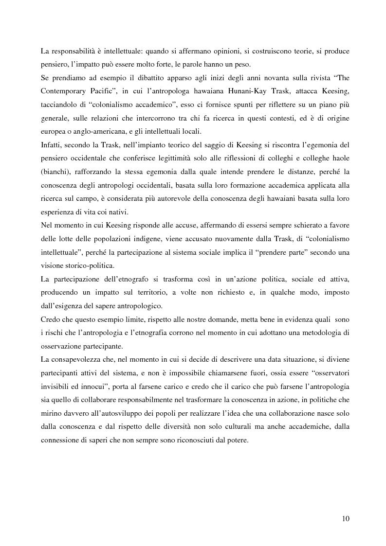 Anteprima della tesi: Analisi antropologica di un racconto di vita, Pagina 5