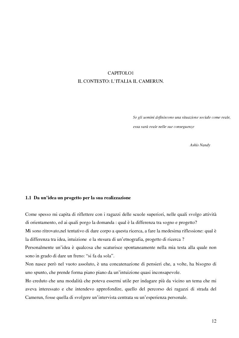 Anteprima della tesi: Analisi antropologica di un racconto di vita, Pagina 7
