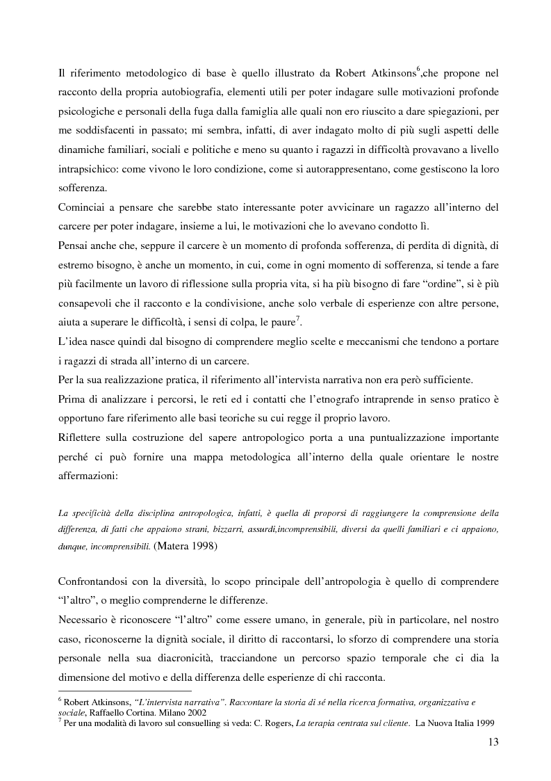 Anteprima della tesi: Analisi antropologica di un racconto di vita, Pagina 8