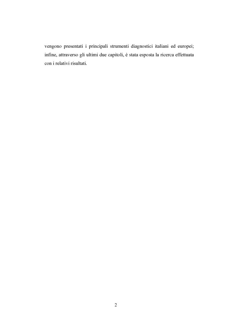 Anteprima della tesi: Raccolta di dati normativi per lo studio della discalculia evolutiva su un campione di adolescenti di scuola media superiore, Pagina 2