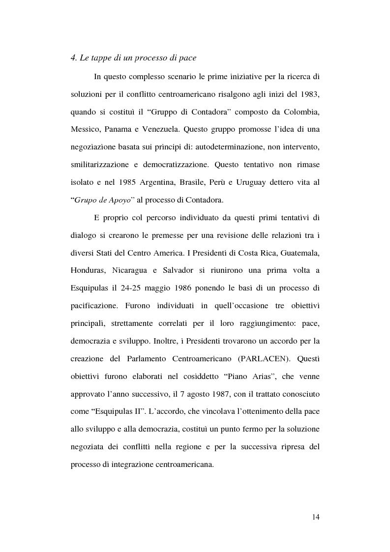 Anteprima della tesi: Unione Europea e America Centrale verso l'Accordo di Associazione: un possibile modello di interregionalismo, Pagina 9