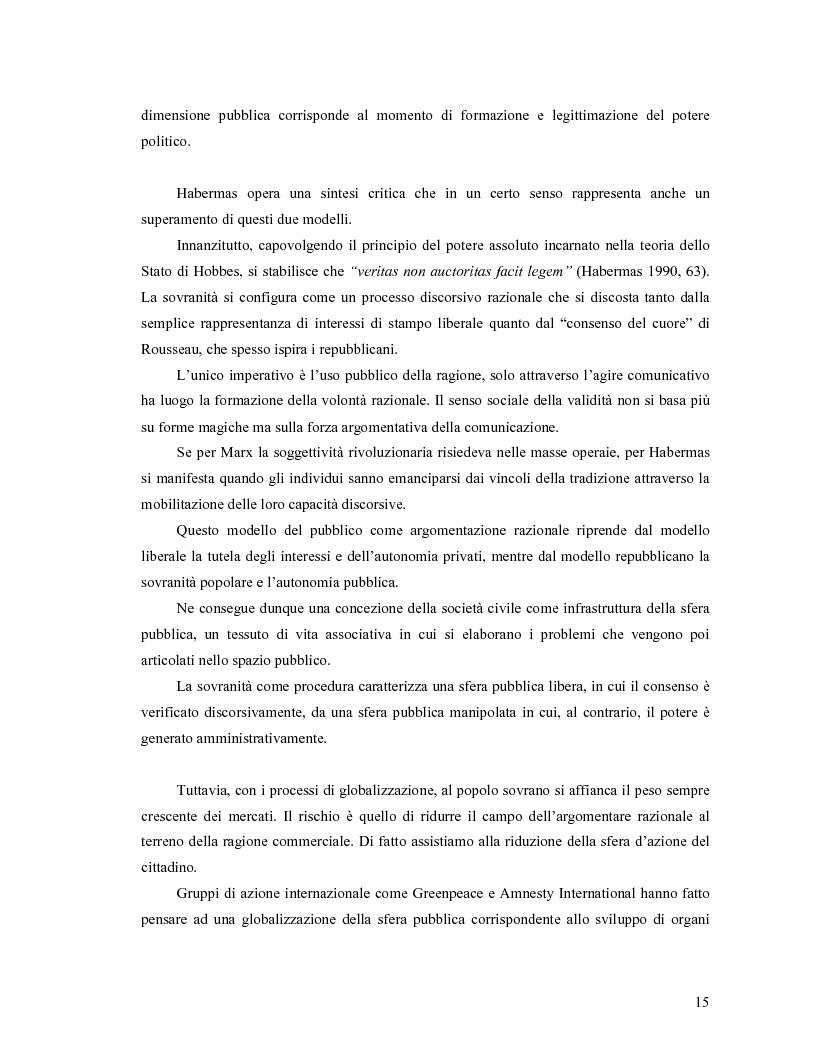 Anteprima della tesi: Da Bologna (io) a Bologna (noi). La democrazia e le nuove tecnologie della comunicazione, Pagina 6